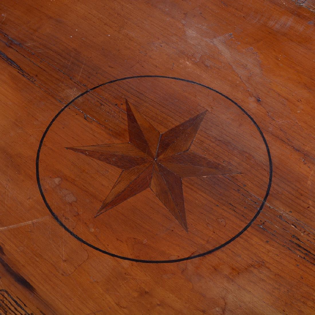 Italian Neoclassical Style Inlaid Fruitwood Circular - 2