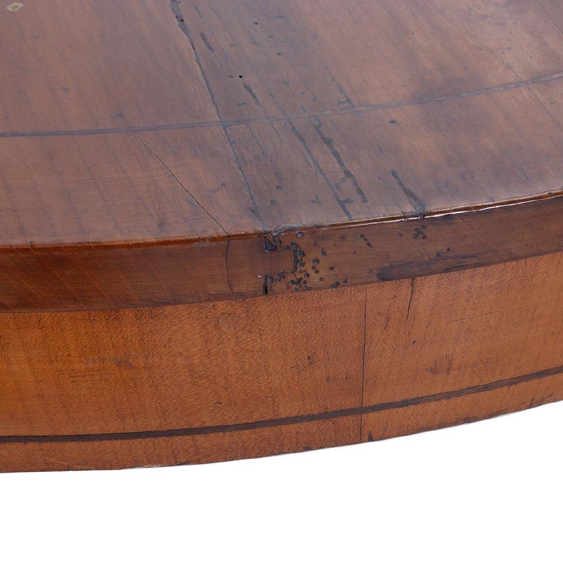 Italian Neoclassical Style Inlaid Fruitwood Circular - 4
