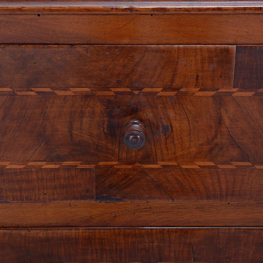 North Italian Neoclassical Inlaid Walnut Cabinet, Late - 3