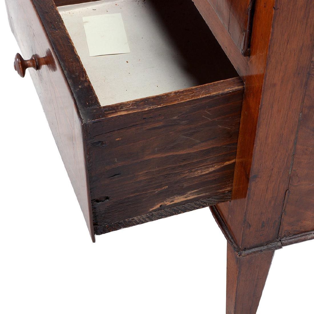North Italian Neoclassical Inlaid Walnut Cabinet, Late - 5