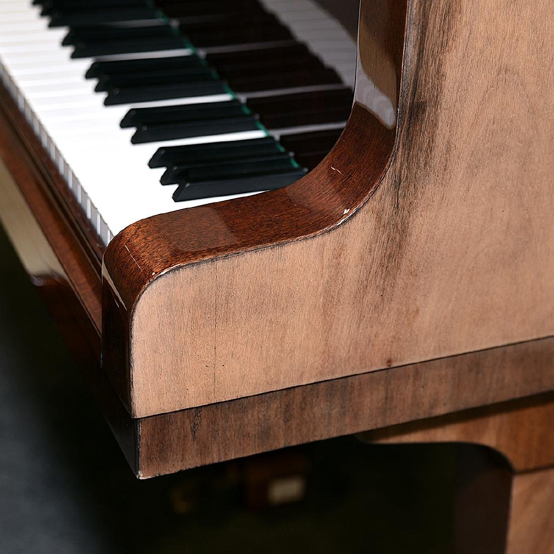 Weinbach Mahogany Cased Grand Piano with Bench, Czech - 2