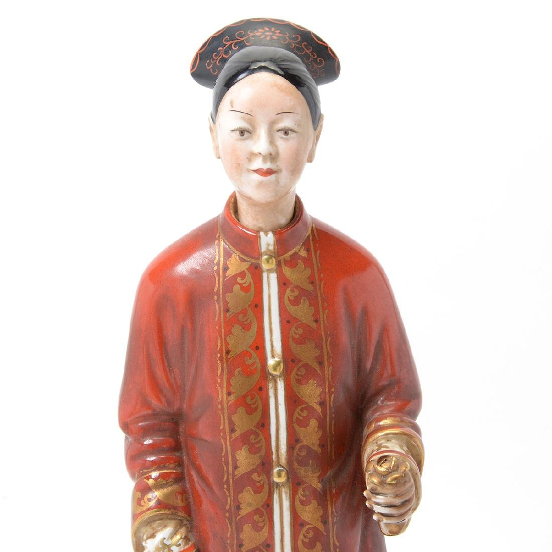 Pair of Italian Porcelain Nodder Figures of Chinoiserie - 6