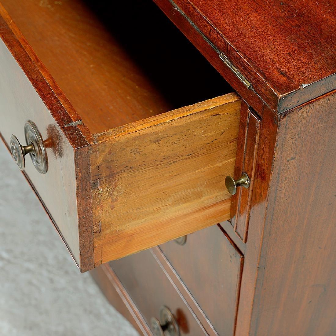 Federal Mahogany Secretary Bookcase - 4