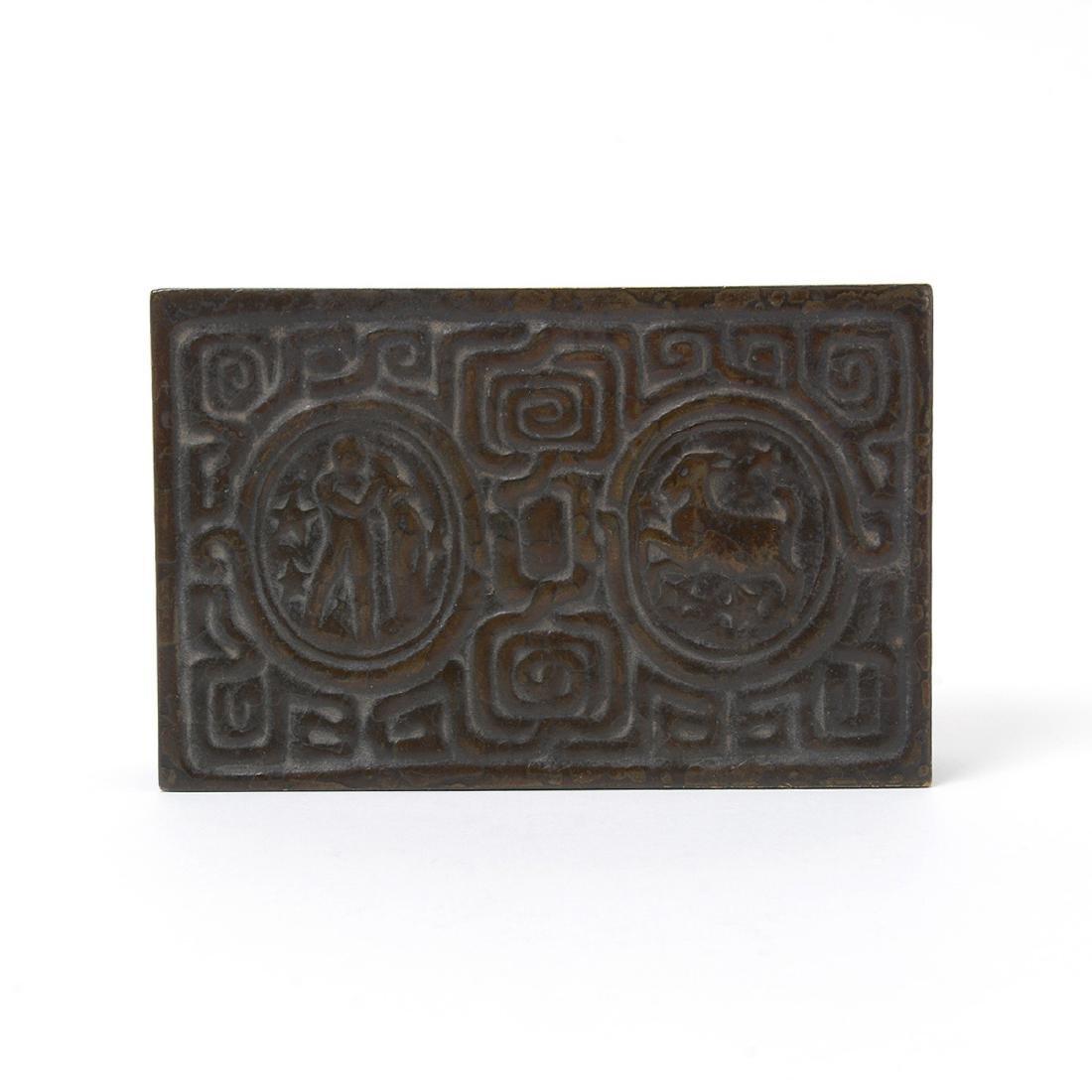 Tiffany Studios Zodiac Box #810 and Tiffany Studios - 2