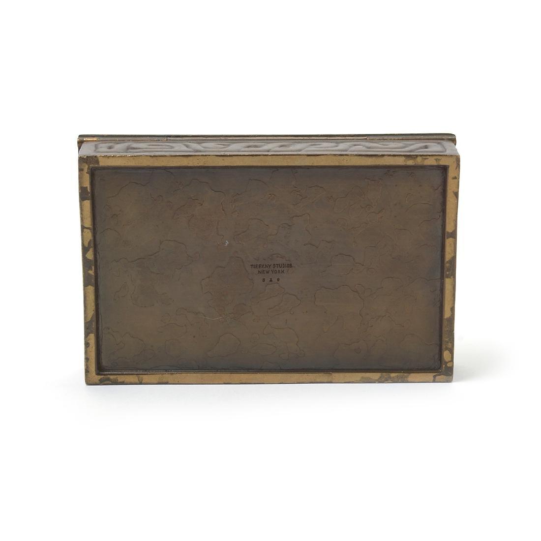 Tiffany Studios Zodiac Box #810 and Tiffany Studios - 6