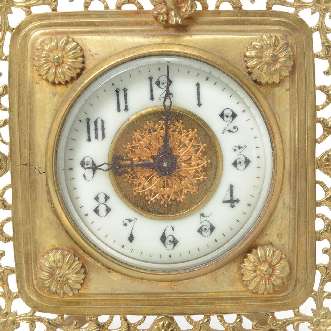 Three Louis XV Style Figural Clocks - 6
