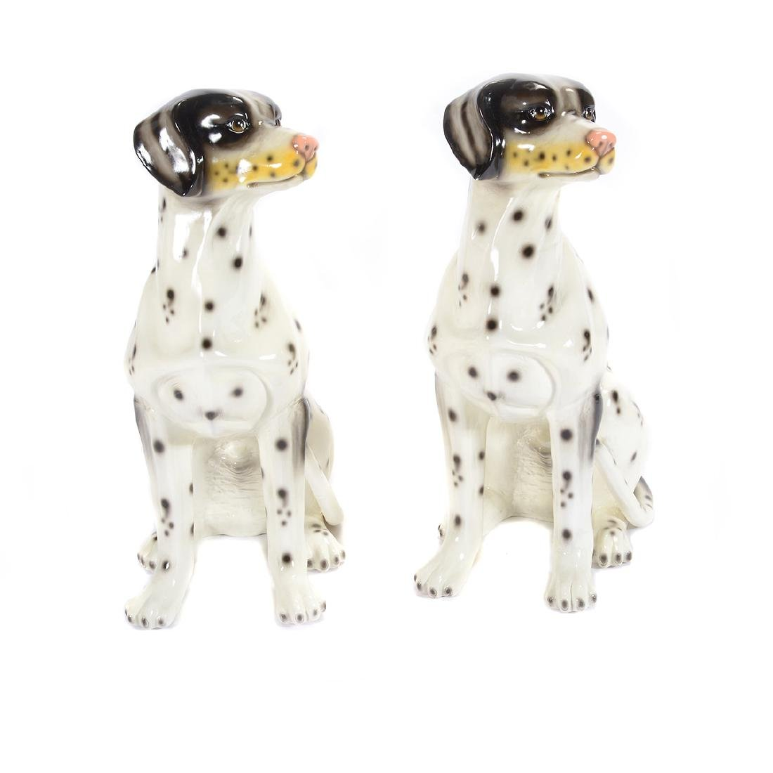 Pair of Life Size Dalmatians