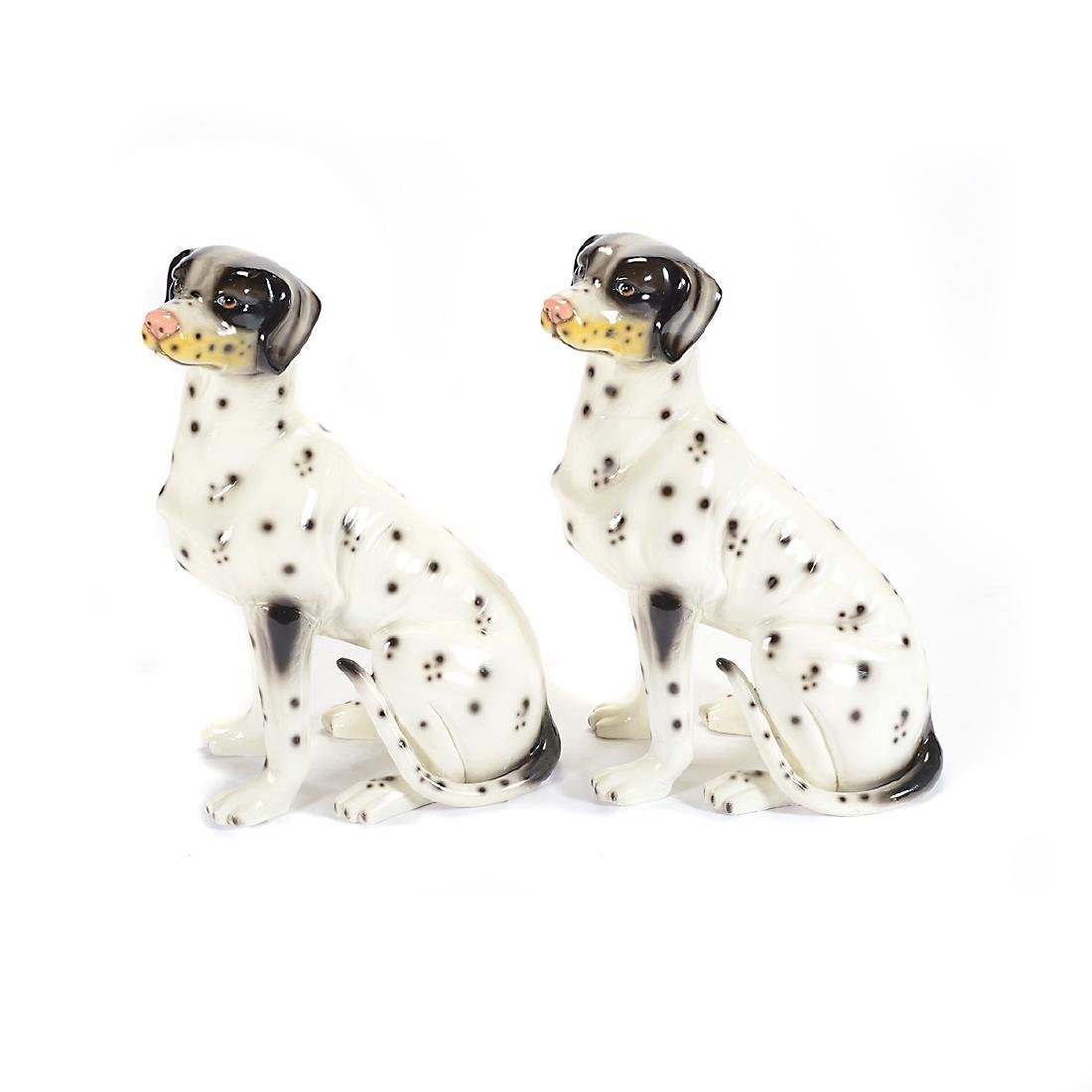 Pair of Life Size Dalmatians - 4