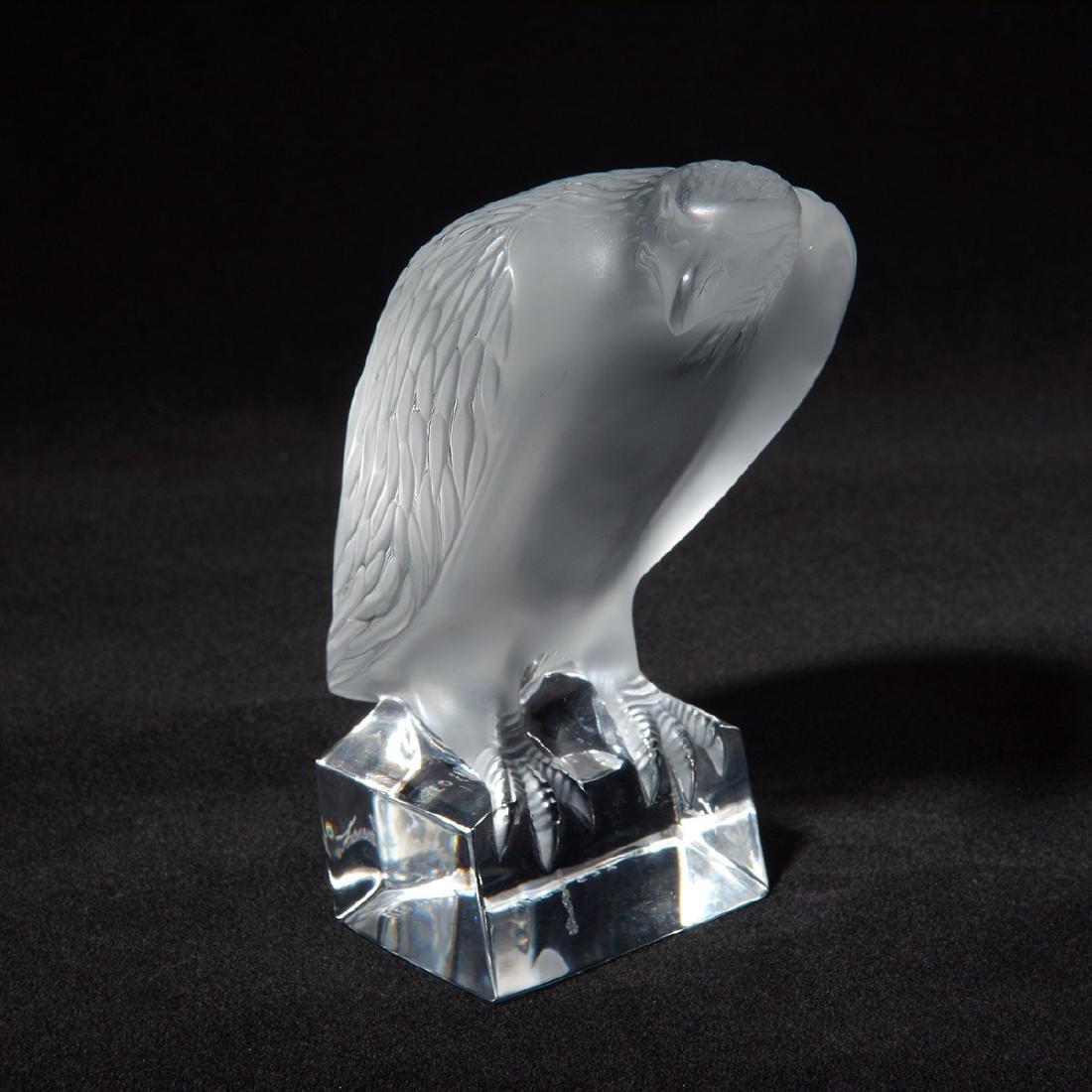 Lalique Eagle Figurine