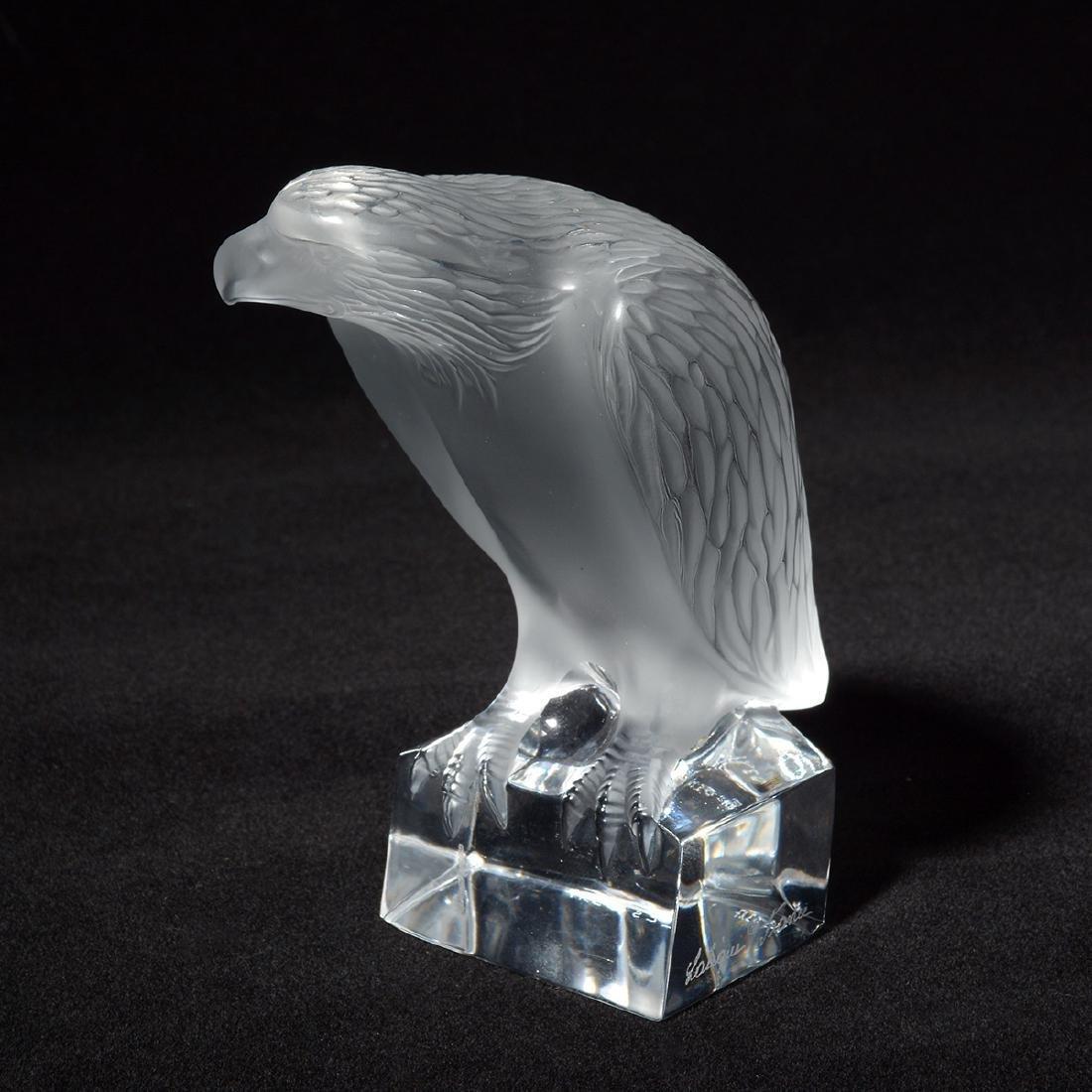 Lalique Eagle Figurine - 2