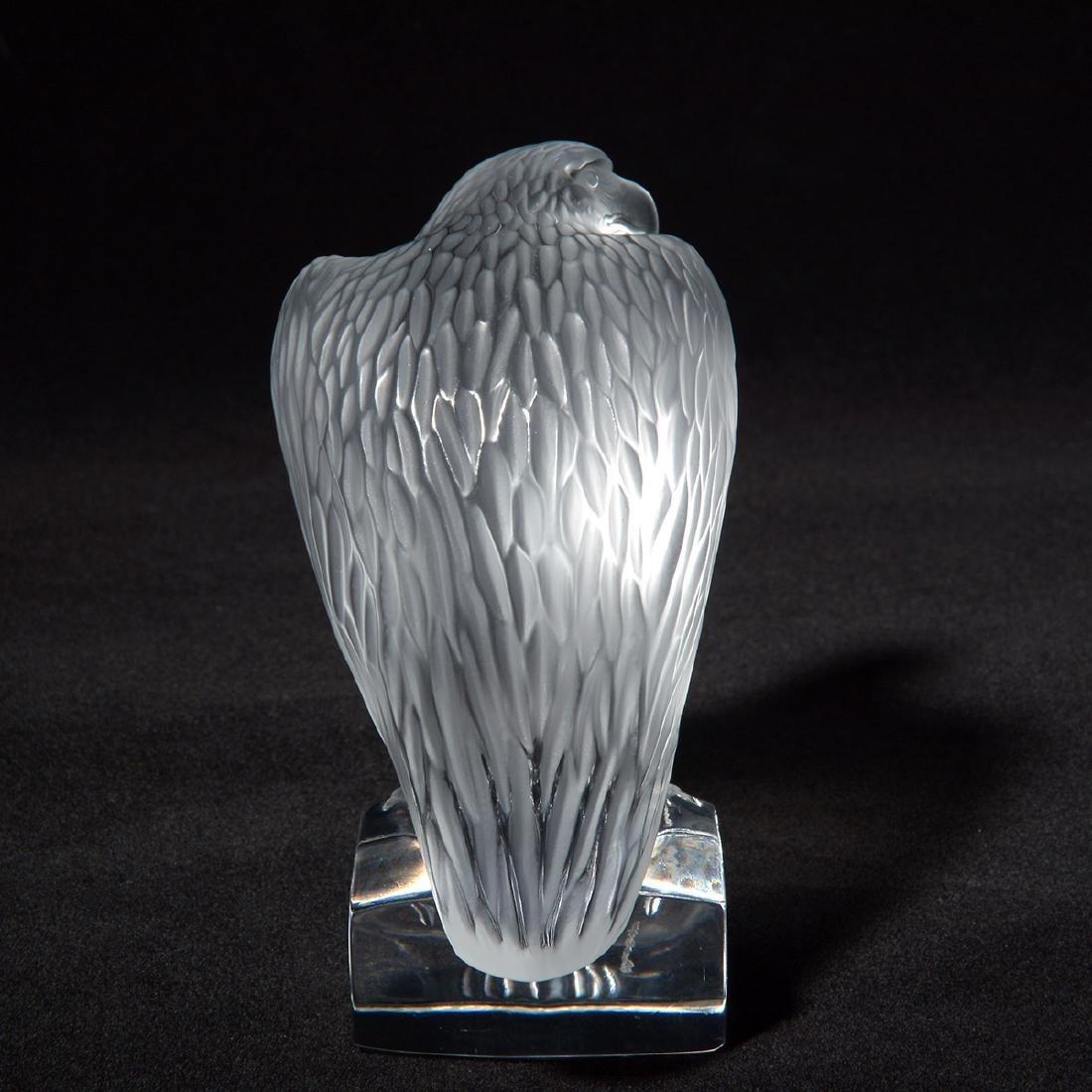 Lalique Eagle Figurine - 3