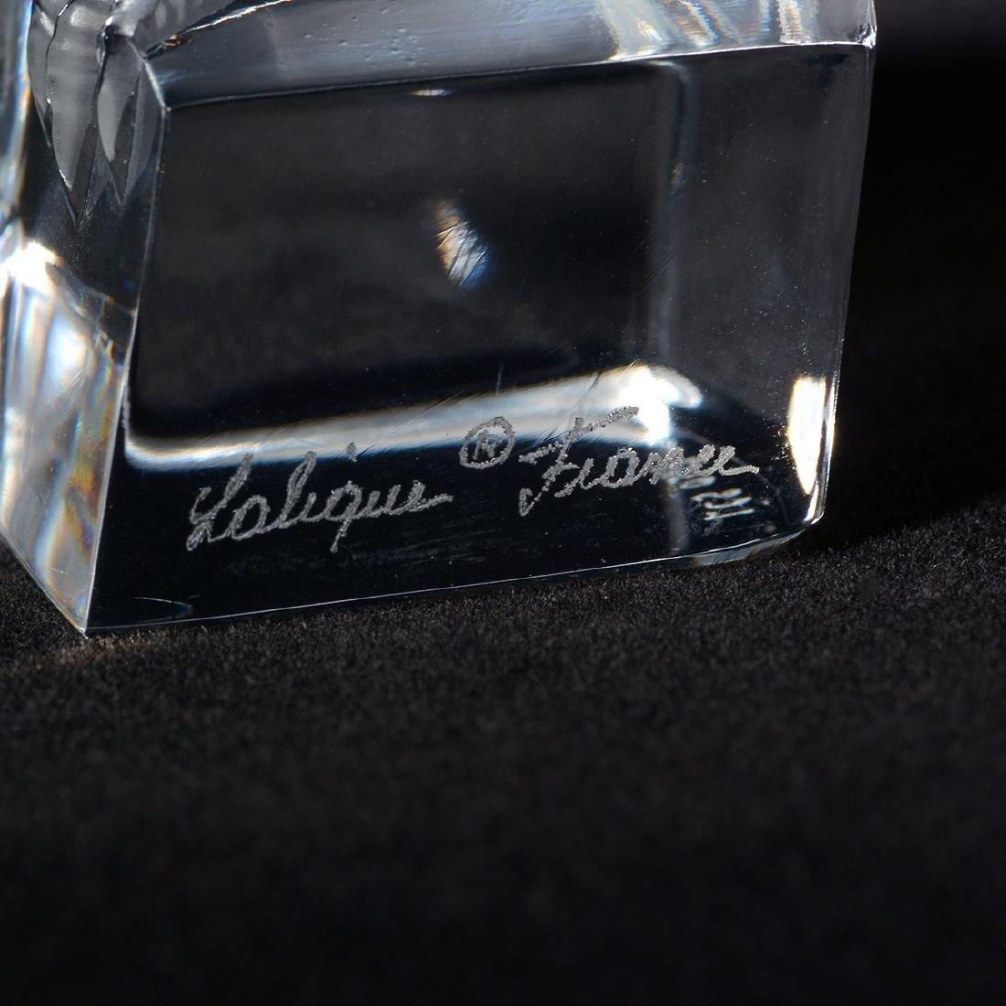Lalique Eagle Figurine - 4