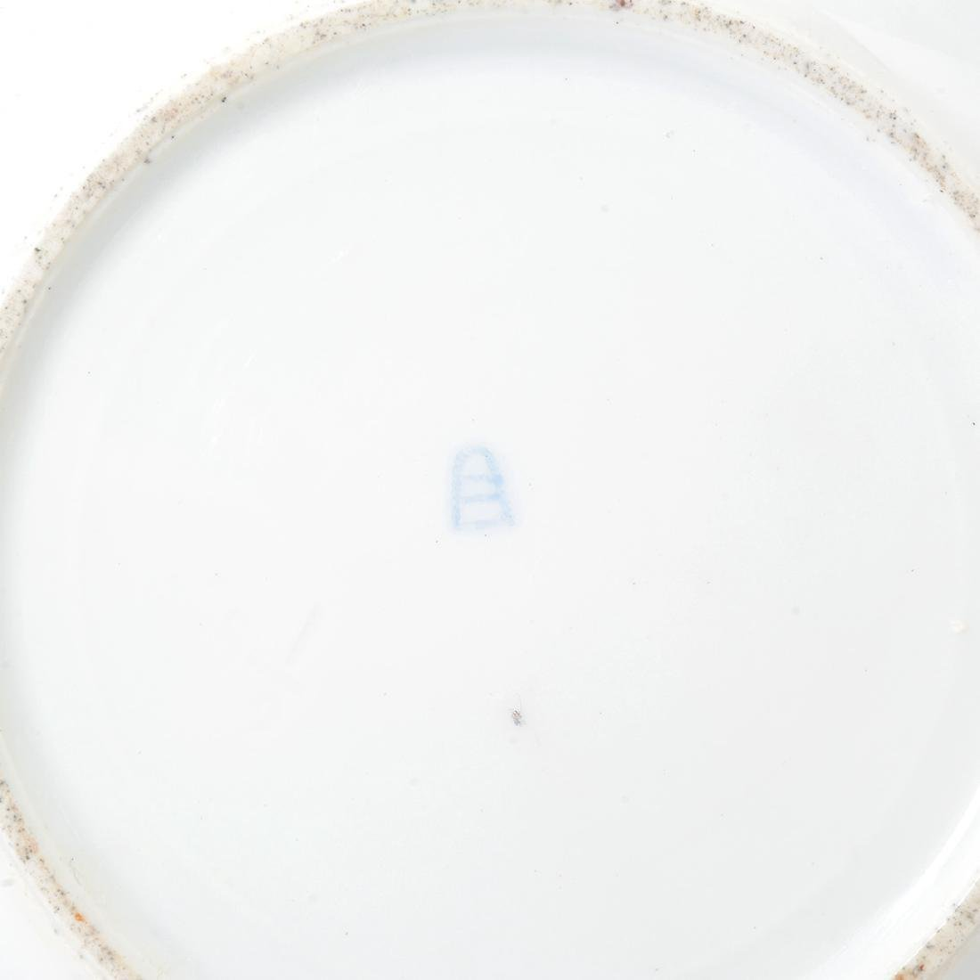 Six Vienna Style Porcelain and Gilt Cabinet Plates, - 6