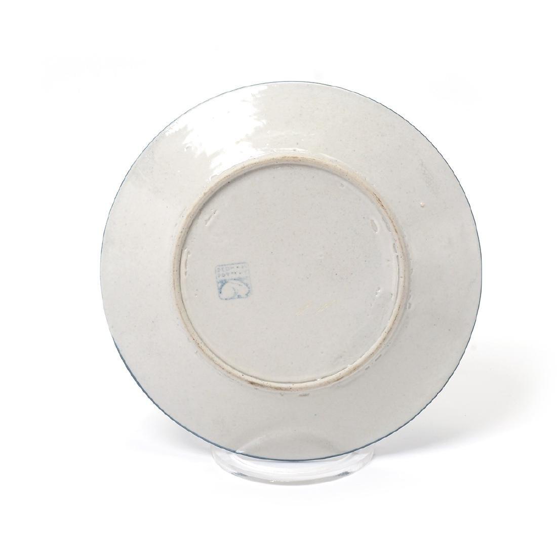Lot of Dedham Art Pottery: three rabbit plates, a - 10