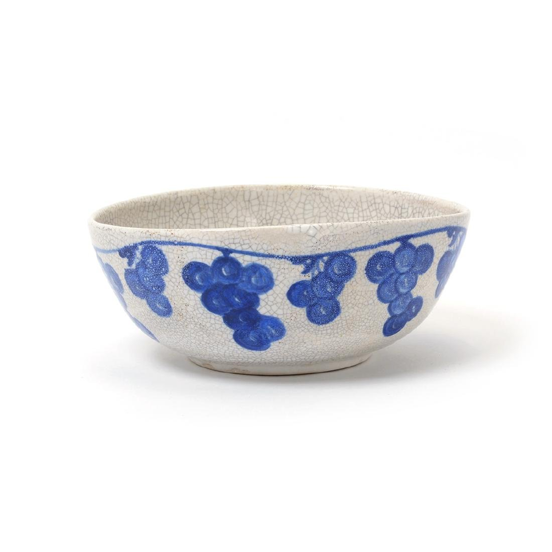 Lot of Dedham Art Pottery: three rabbit plates, a - 2