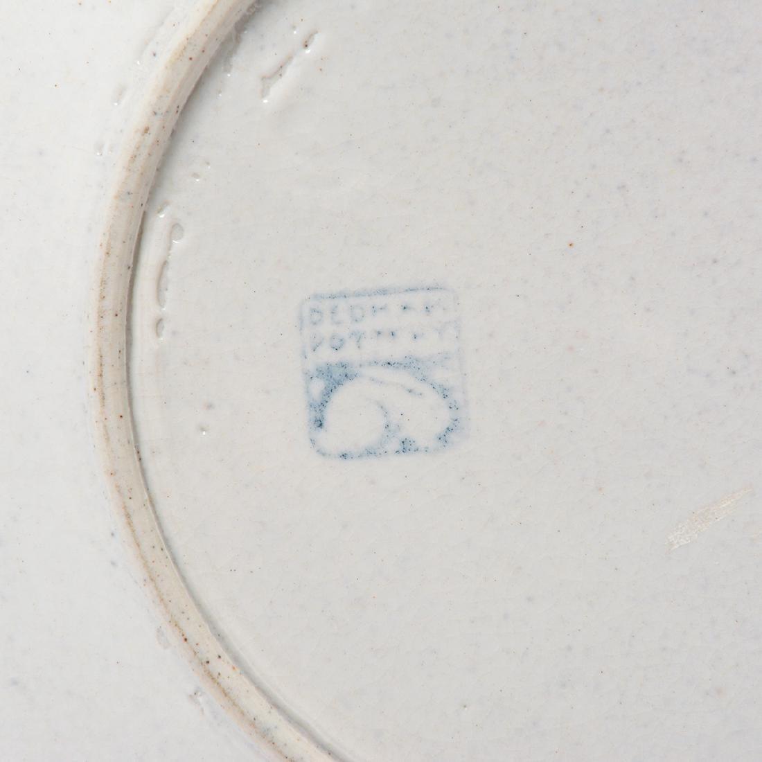 Lot of Dedham Art Pottery: three rabbit plates, a - 5