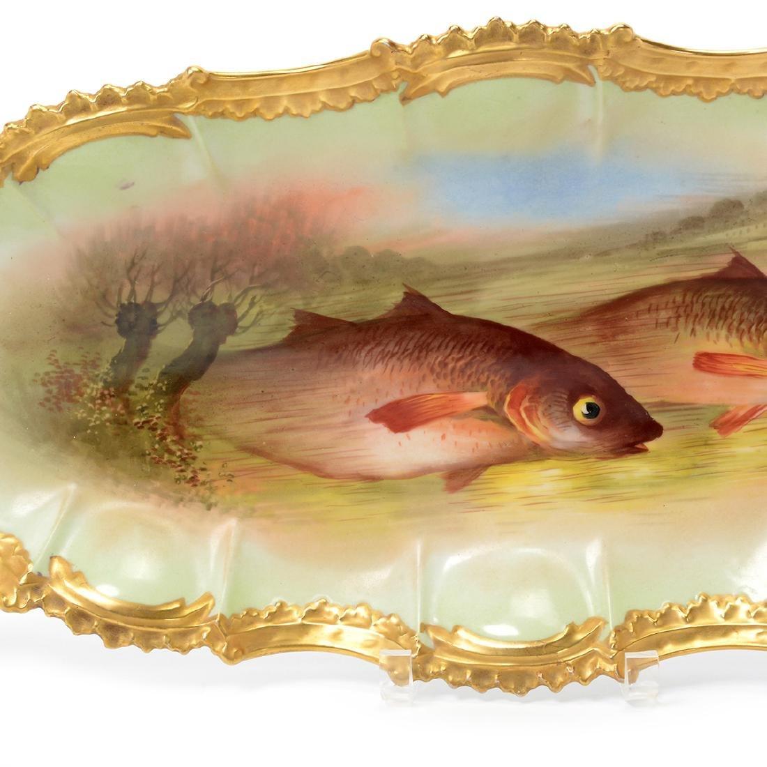 Limoges Handpainted Fish Set - 8