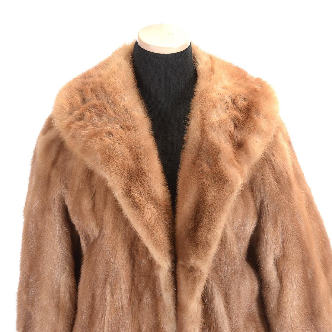 Brown Full-Length Mink Coat