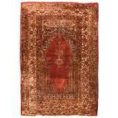 Silk Anatolian Prayer Rug