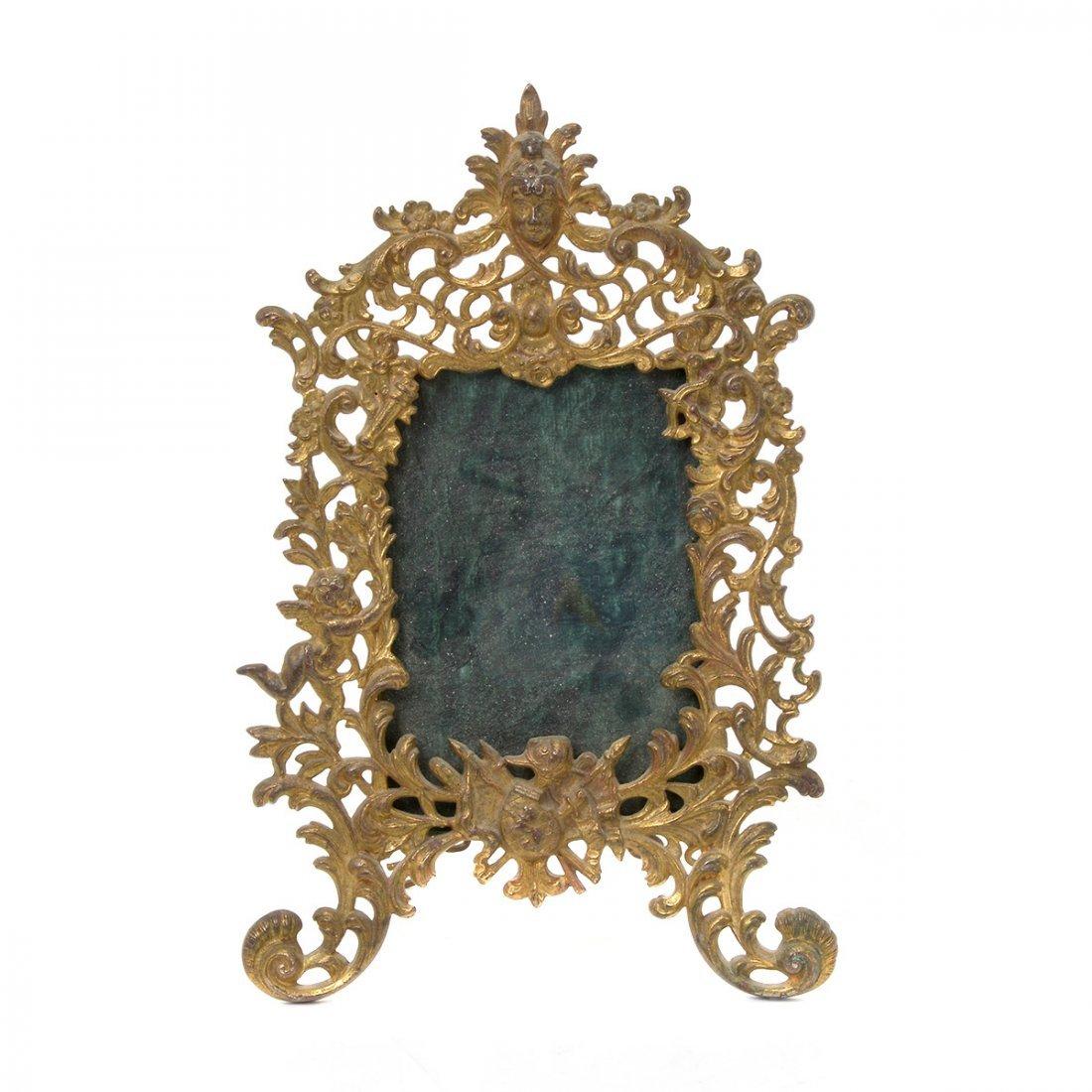 Bradley & Hubbard Renaissance Style Gilt Dresser Mirror - 2