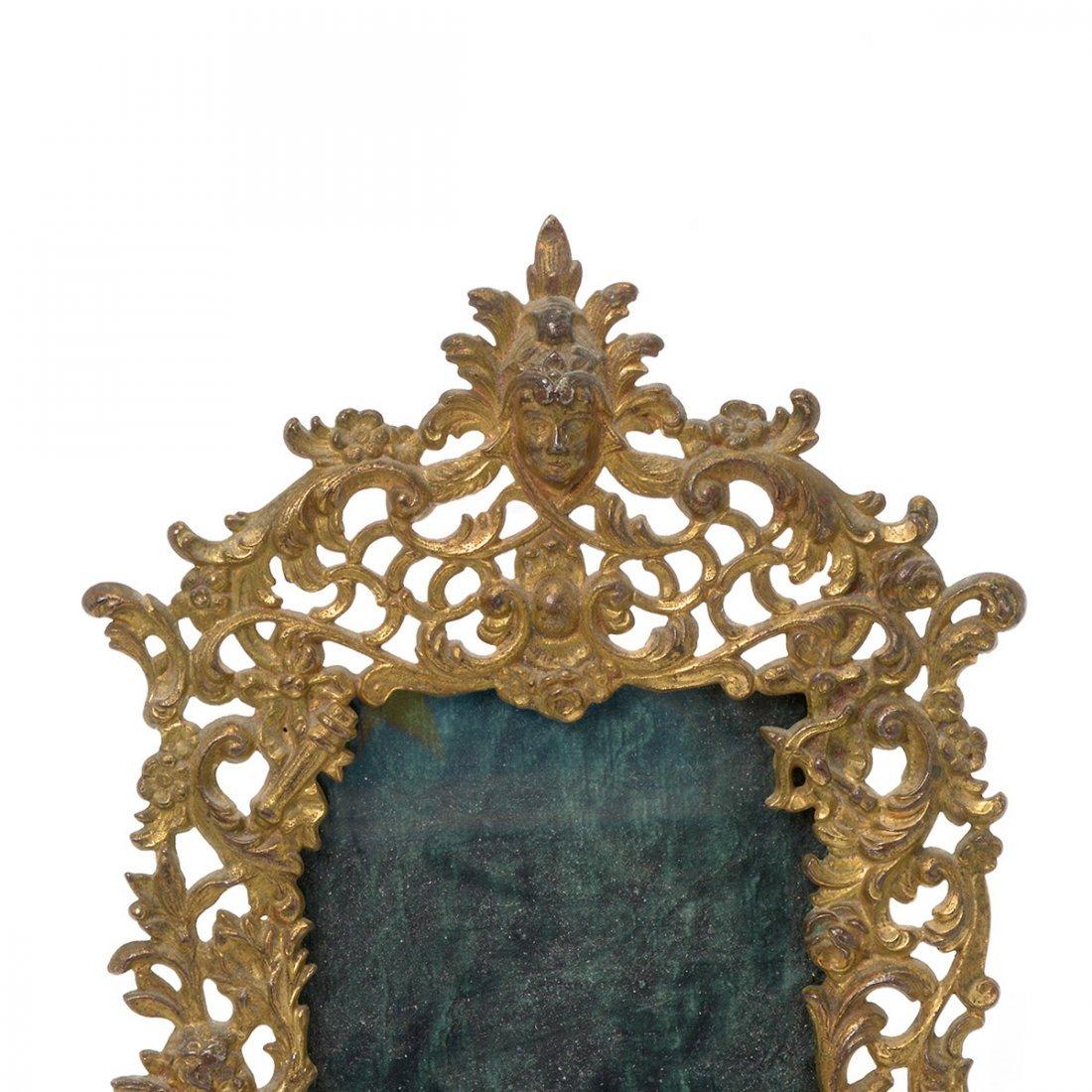 Bradley & Hubbard Renaissance Style Gilt Dresser Mirror - 4