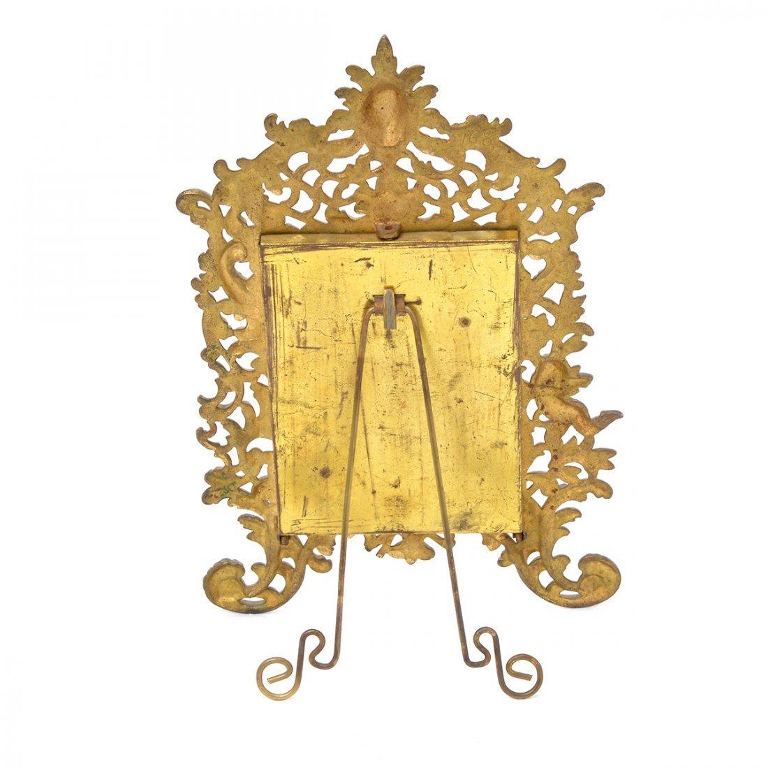 Bradley & Hubbard Renaissance Style Gilt Dresser Mirror - 5