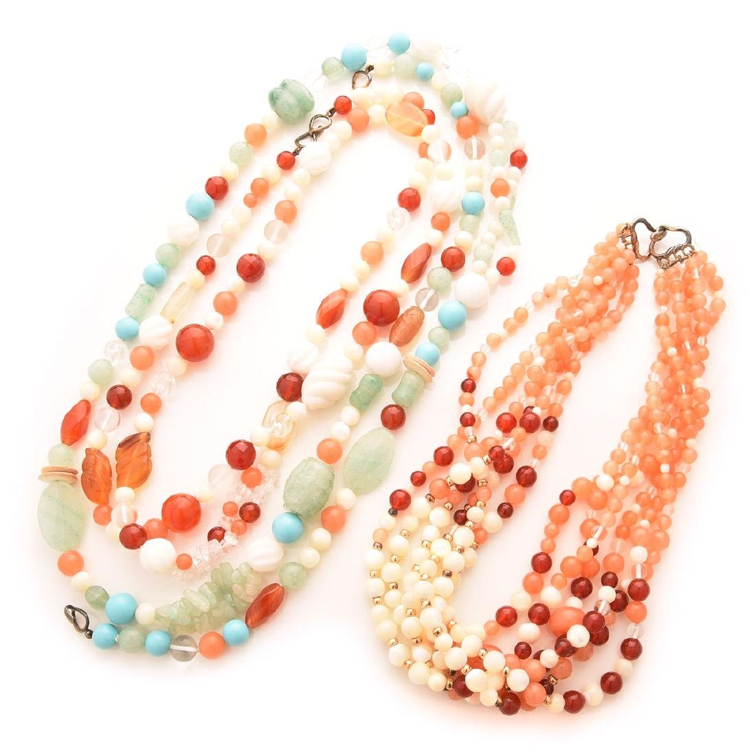 Collection of Kai-Yin Lo, Multi-strand Necklaces.