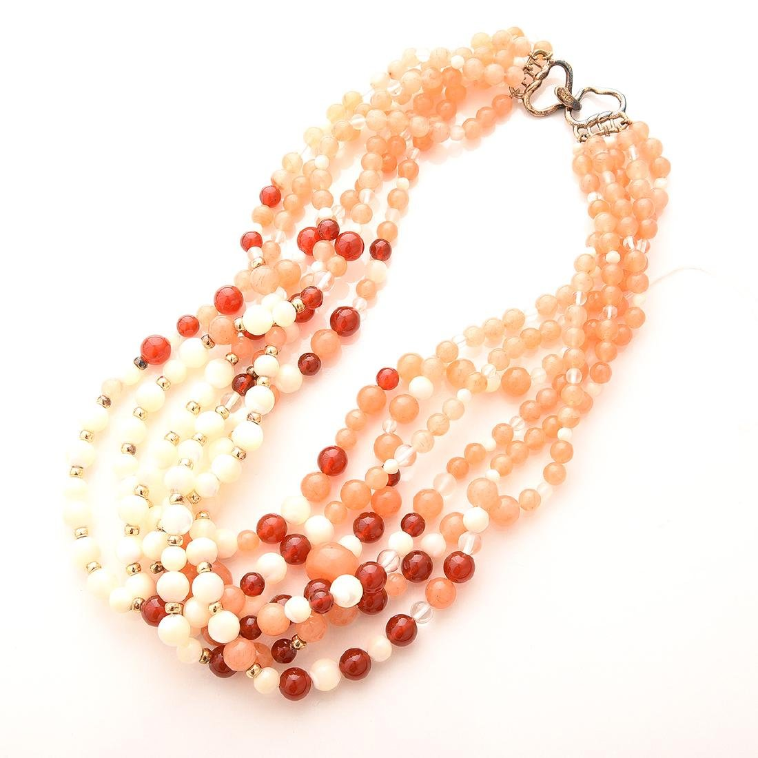 Collection of Kai-Yin Lo, Multi-strand Necklaces. - 2