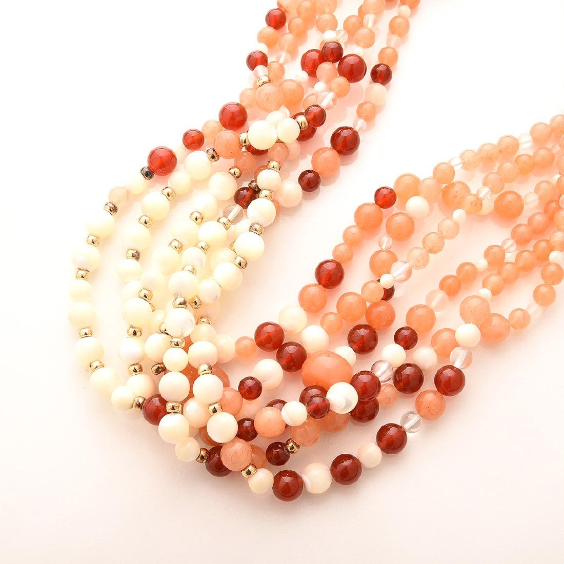 Collection of Kai-Yin Lo, Multi-strand Necklaces. - 3