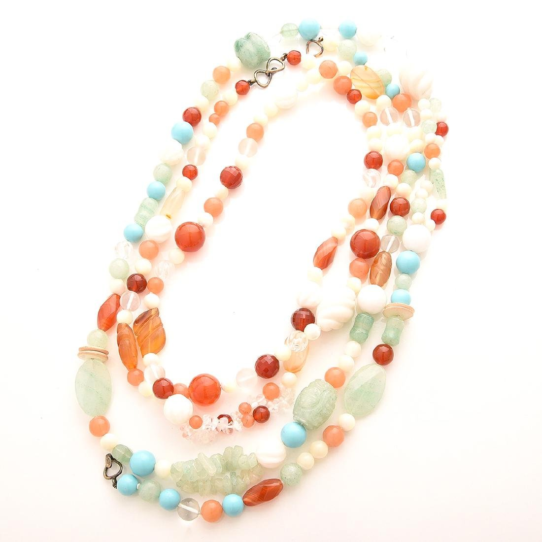 Collection of Kai-Yin Lo, Multi-strand Necklaces. - 4