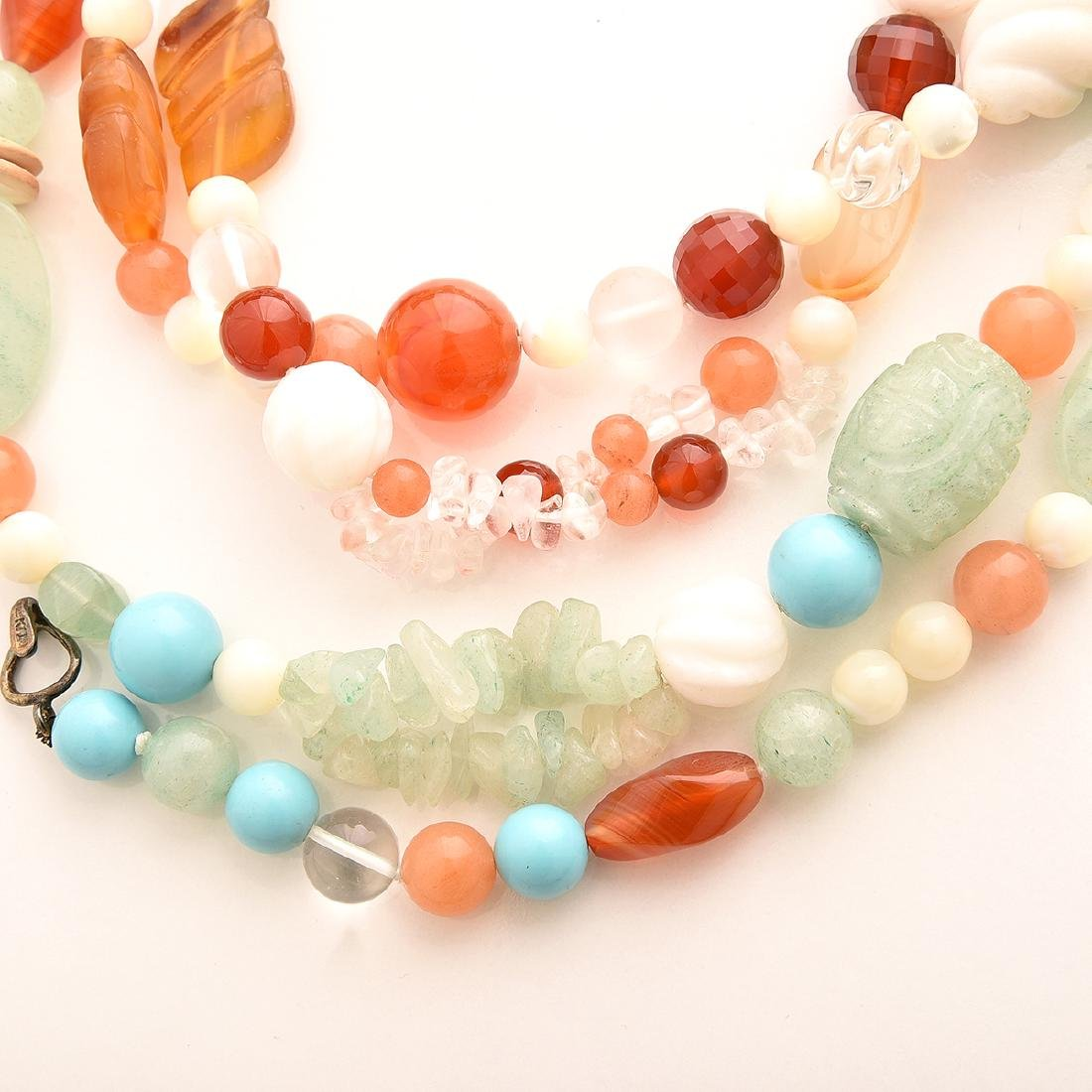 Collection of Kai-Yin Lo, Multi-strand Necklaces. - 5