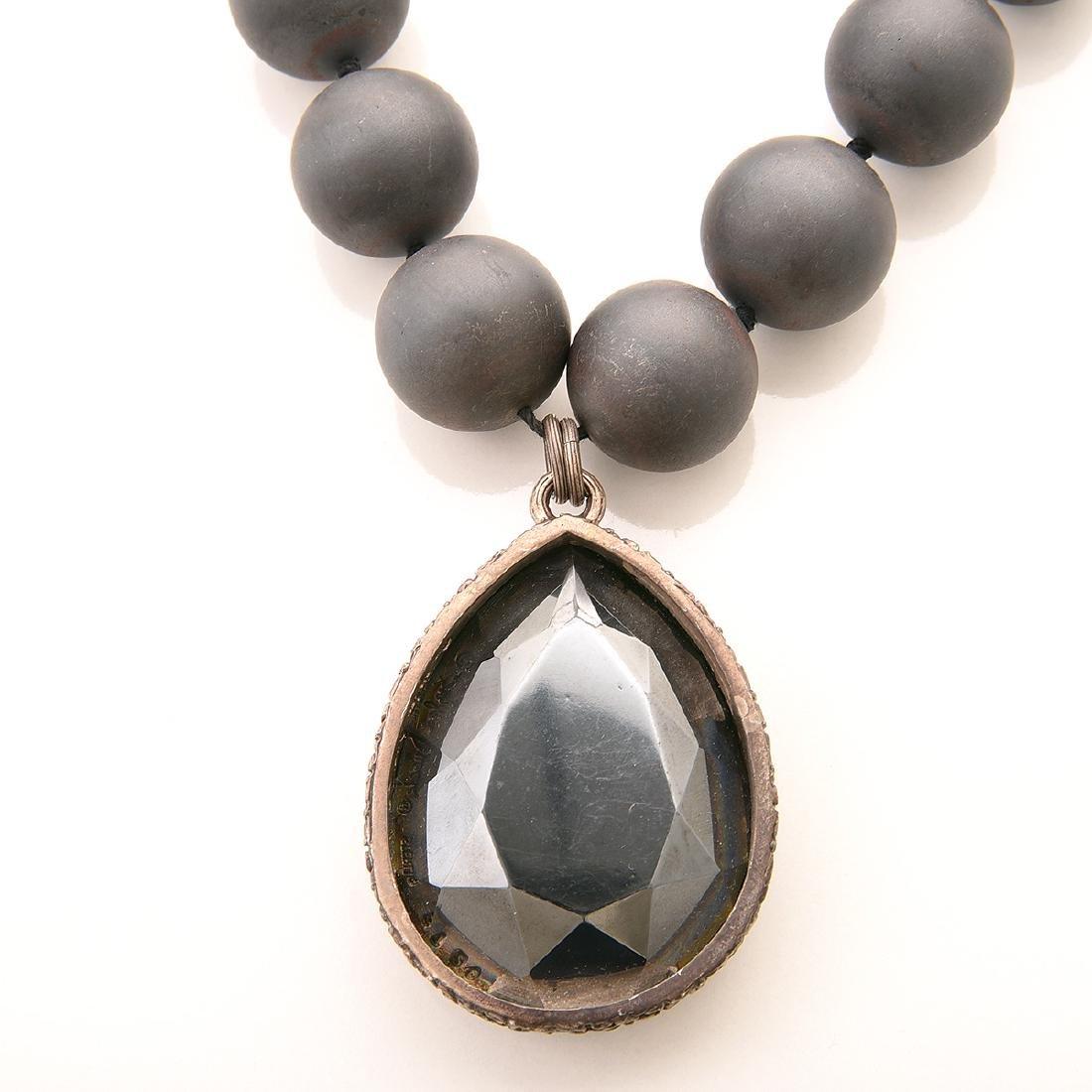 Stephen Dweck Hematite, Silver, Jewelry Suite. - 4