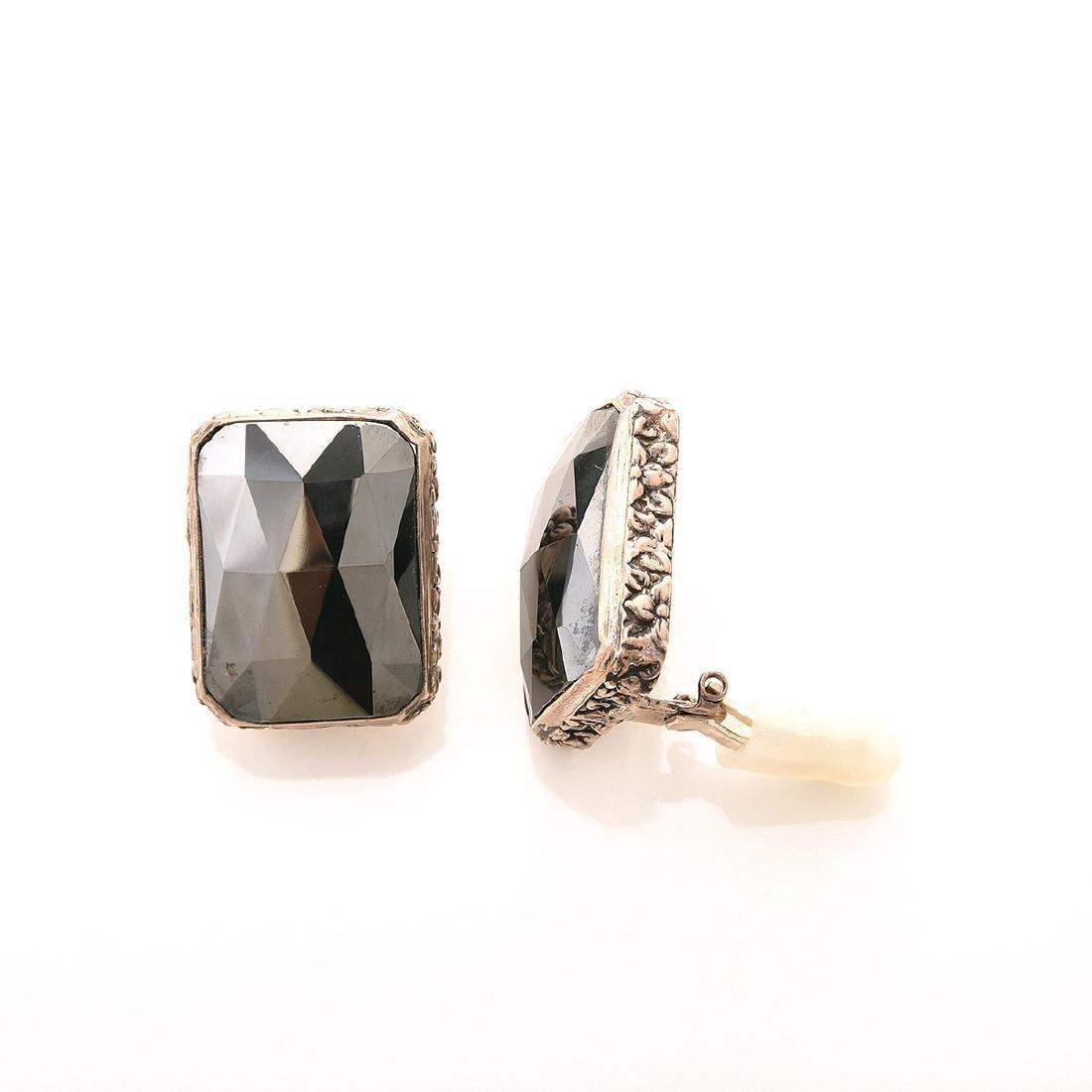 Stephen Dweck Hematite, Silver, Jewelry Suite. - 5