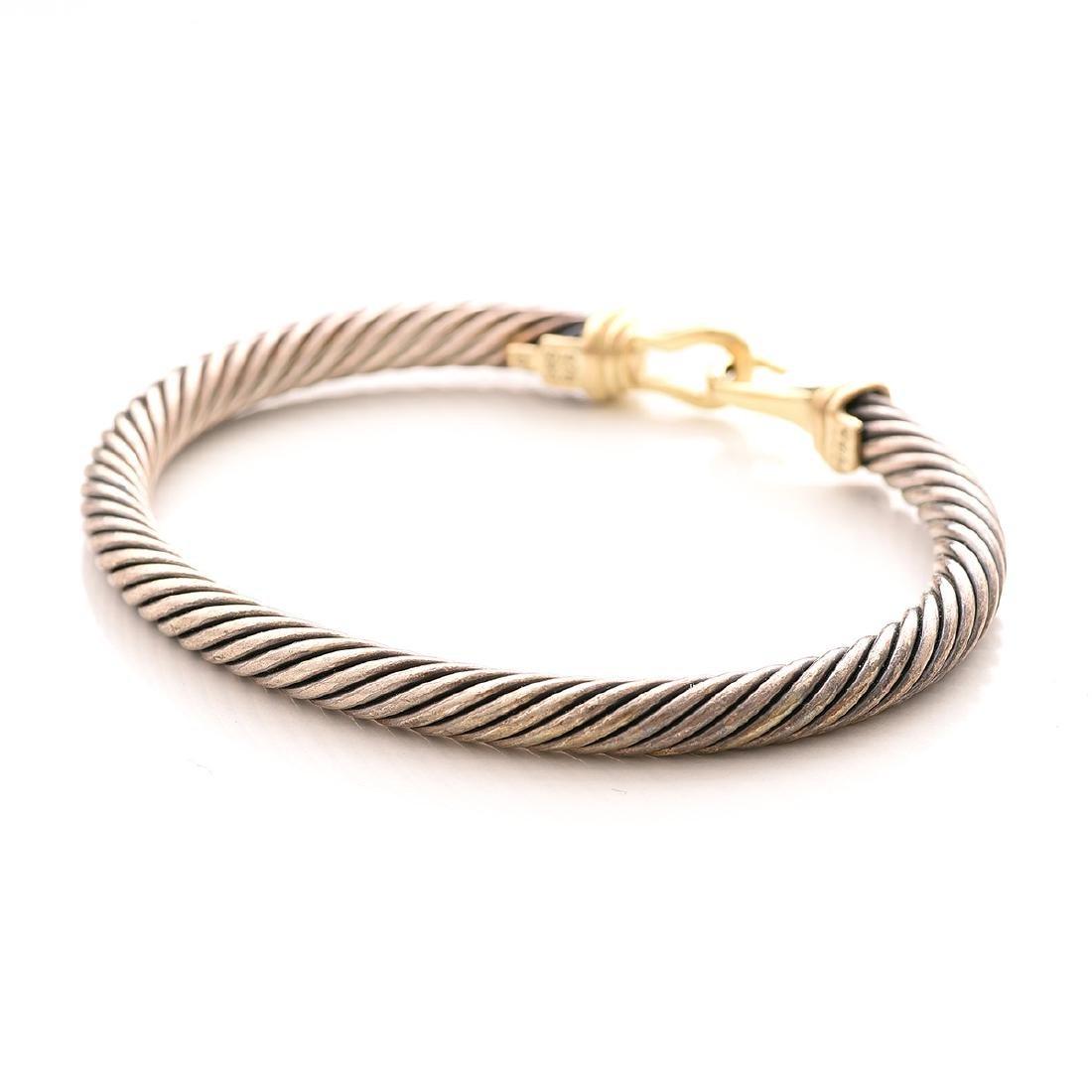 David Yurman, 14k Gold, Sterling Silver Jewelry Suite. - 3