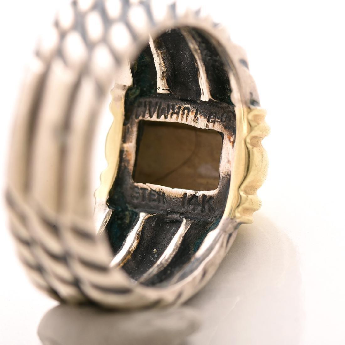 David Yurman, 14k Gold, Sterling Silver Jewelry Suite. - 7