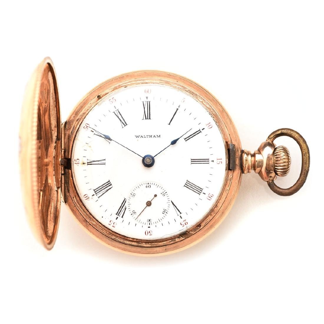 Waltham, 14k Gold, Pocket Watch.