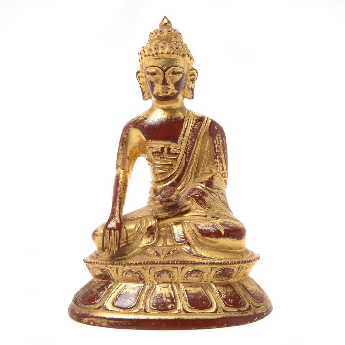 Two Bronze Buddhist Figures, 17th/18th Century - 2