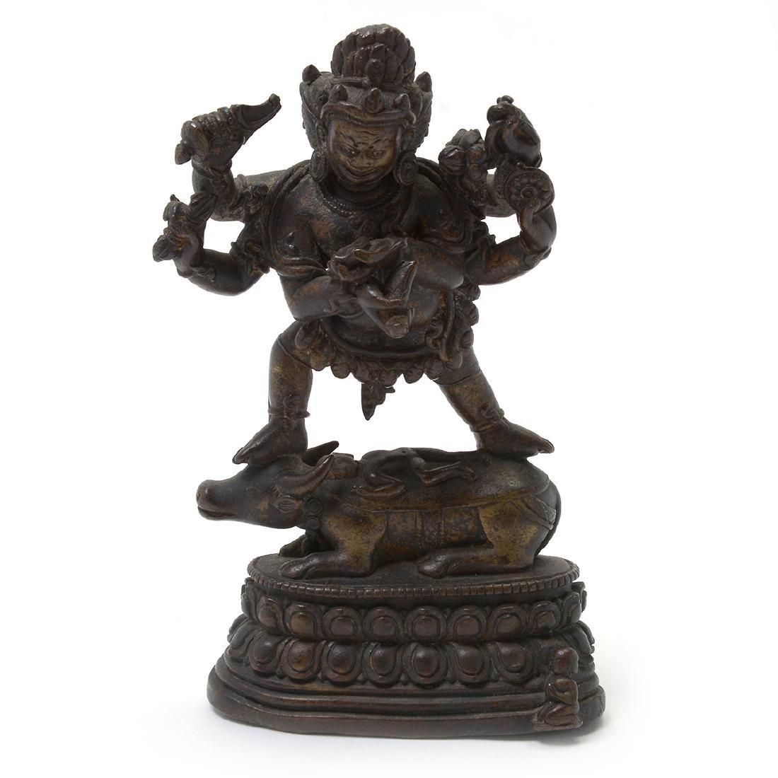 Two Bronze Buddhist Figures, 17th/18th Century - 3
