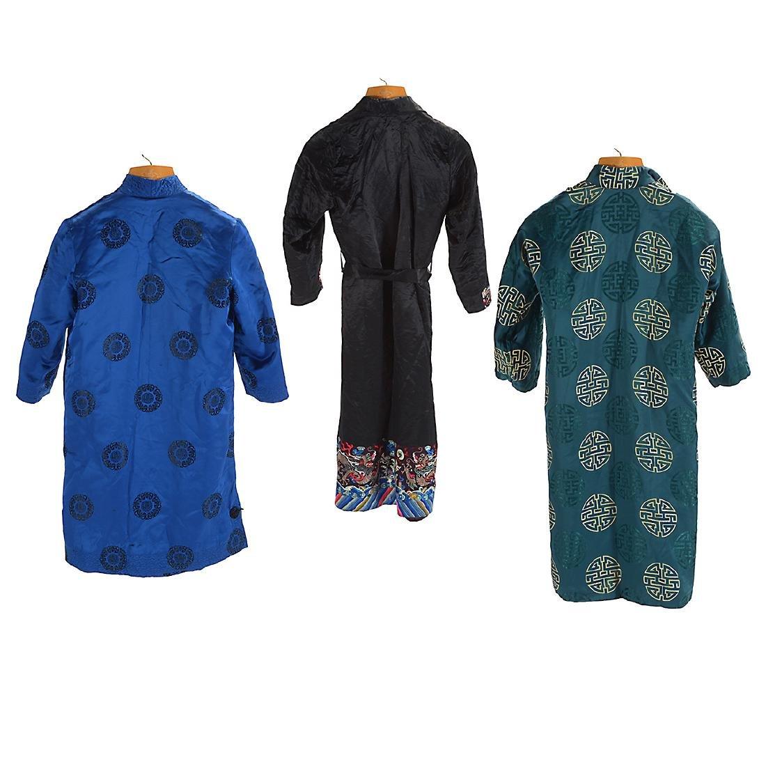 Three Silk-Lined Fur Coats - 2