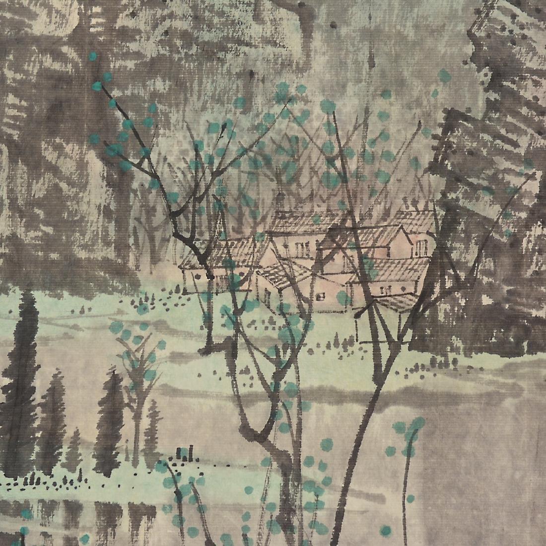 Manner of Bai Xueshi (1915-2011): Li River - 4
