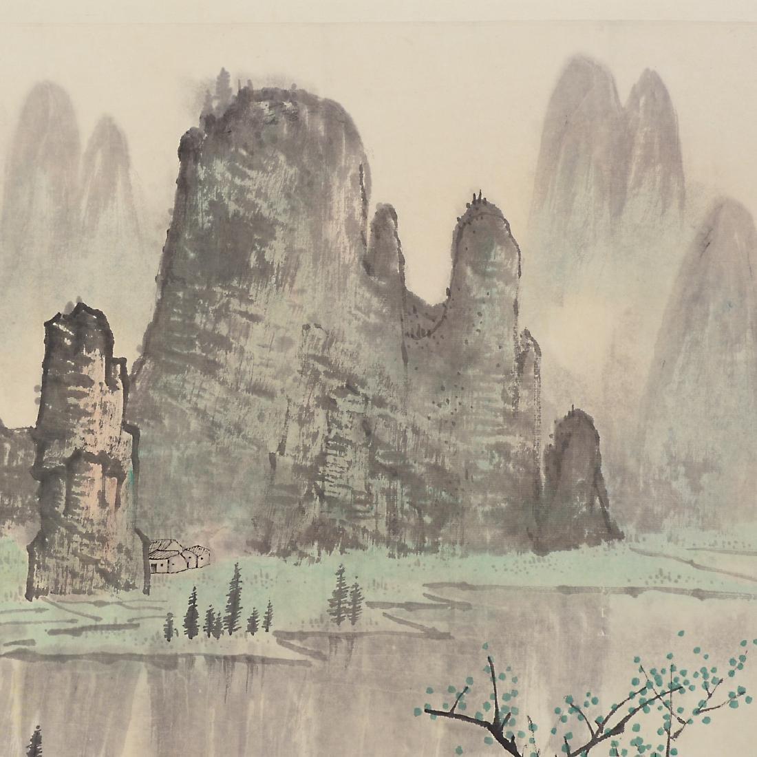 Manner of Bai Xueshi (1915-2011): Li River - 6