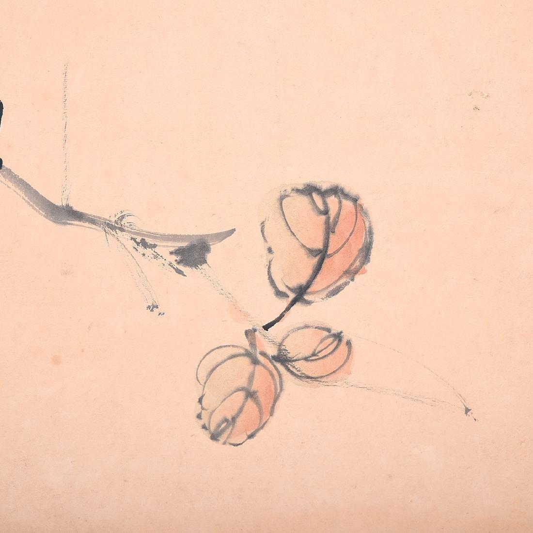 Yu Zhonglin (1925-1985): Magpies - 5