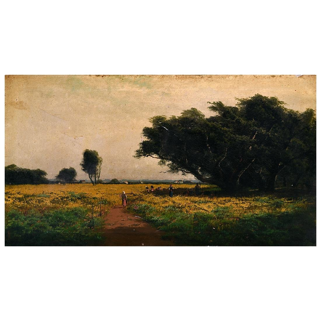 "Ransome Gillet Holdredge ""California Landscape"" oil on"