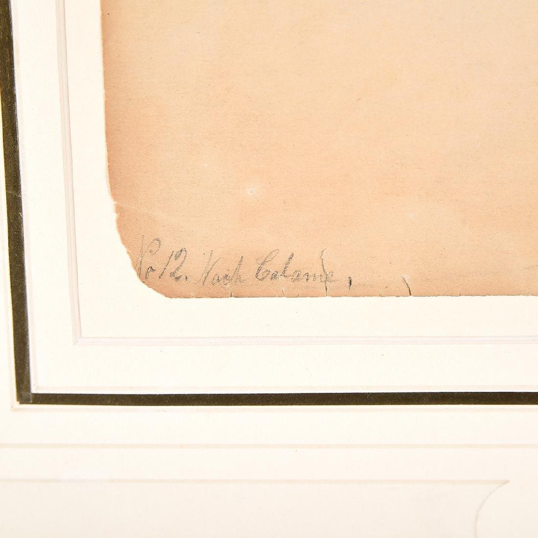 "Louis Eilshemius ""No. 12 Loch Calame"" pencil on paper - 3"