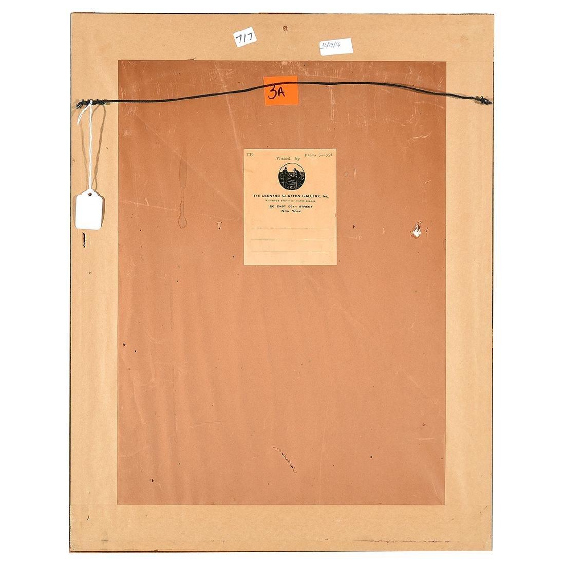 "Louis Eilshemius ""No. 12 Loch Calame"" pencil on paper - 6"