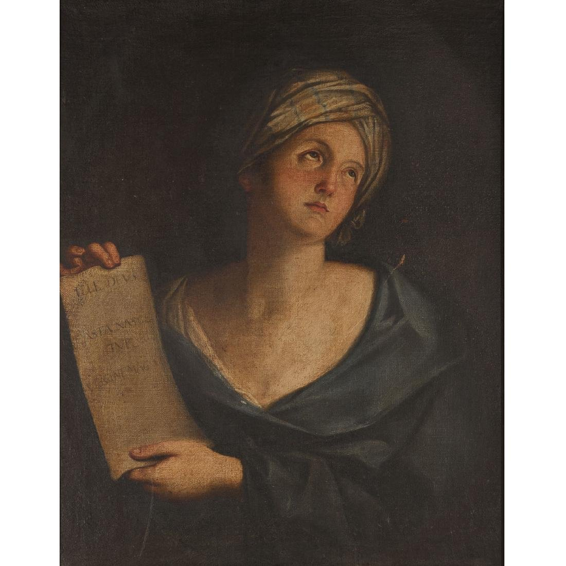 Manner of Giovanni Gessi, Portrait of a Woman, Oil