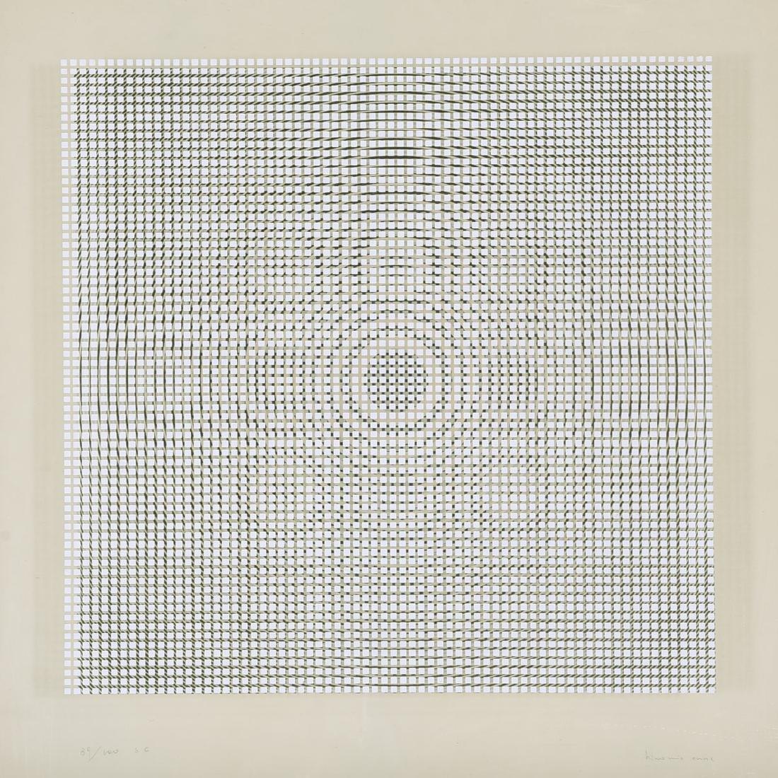 Attrib. to Alberto Biasi, Untitled double silkscreen