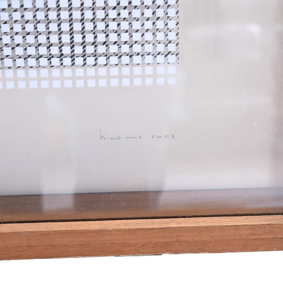 Attrib. to Alberto Biasi, Untitled double silkscreen - 2
