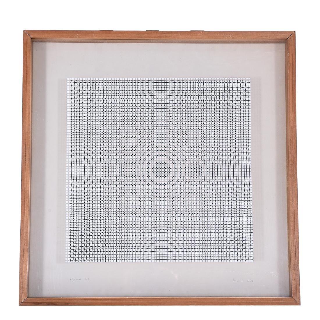 Attrib. to Alberto Biasi, Untitled double silkscreen - 5