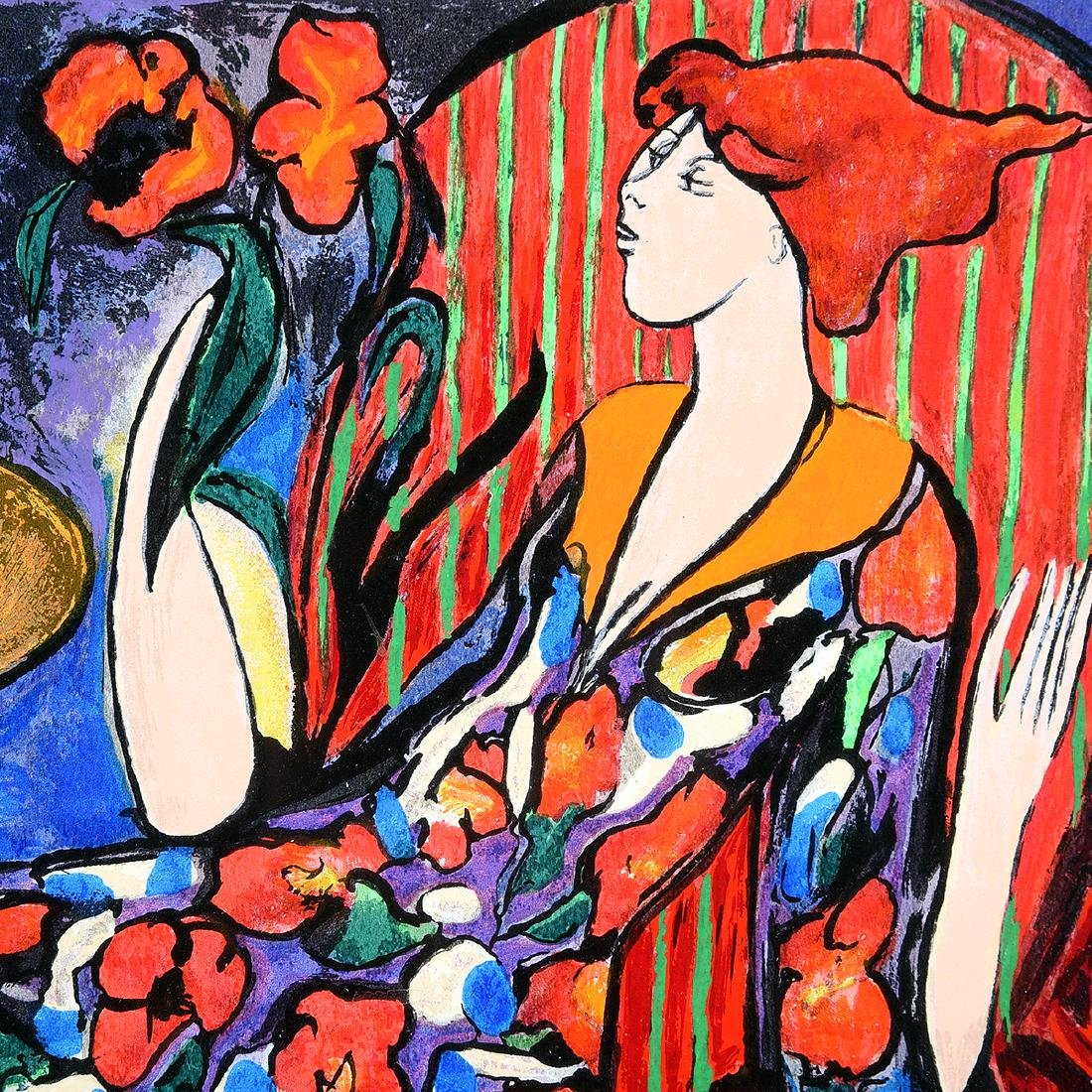 """Linda Le Kinff """"Carmen"""" and """"Seated Woman"""" two Signed - 8"""